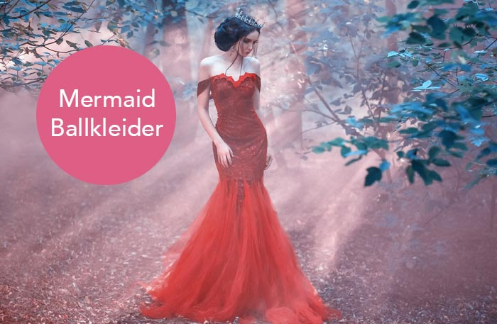 Ballkleid Meerjungfrau Meerjungfrauen Ballkleider Online Kaufen