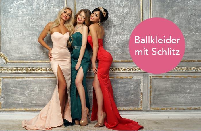 Ballkleid mit Schlitz - Ballkleider mit Beinschlitz